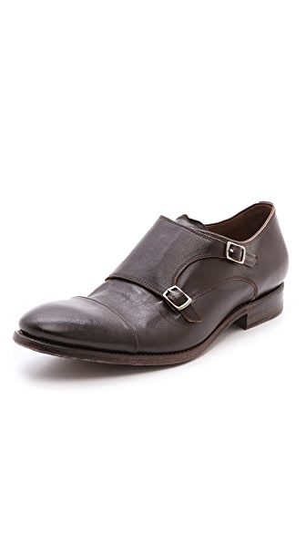 n.d.c. made by hand Twice the Monk Strap Oxfords