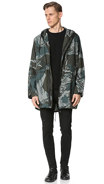 N.Hoolywood Wild Things Hooded Coat