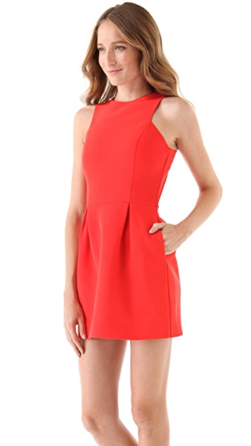 Nicholas Bonded Racer Dress
