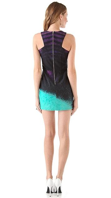 Nicholas Neon Dust Racer Dress