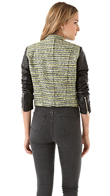 Nicholas Tweed Biker Jacket