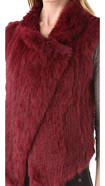 Nicholas Cheyenna Fur Vest