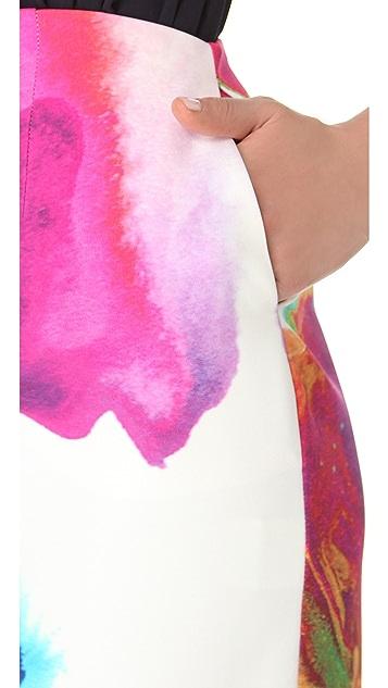 Nicholas Printed Tulip Skirt