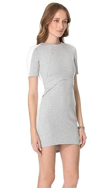 Nicholas Ponte Two Tone Dress