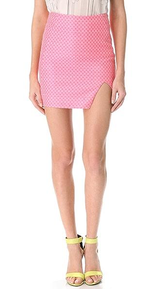 Nicholas Jacquard Wrap Skirt
