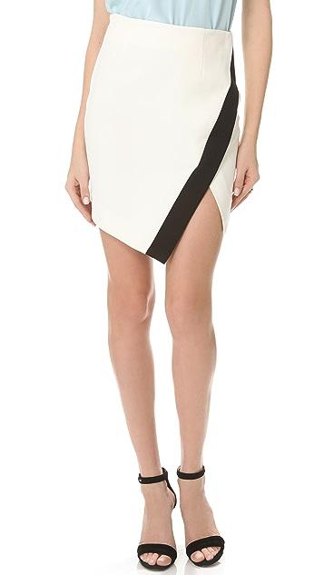 Nicholas Bonded Split Skirt