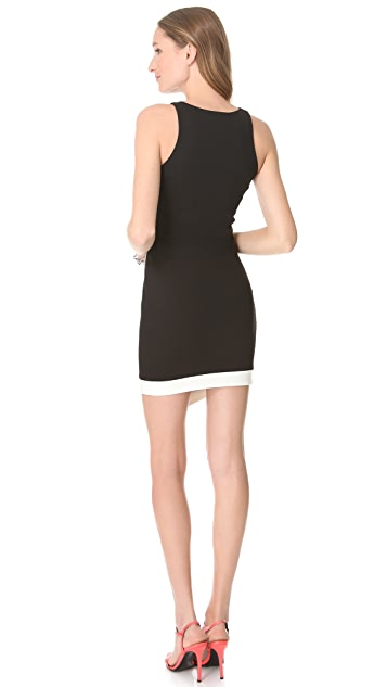 Nicholas Ponte Contrast Dress
