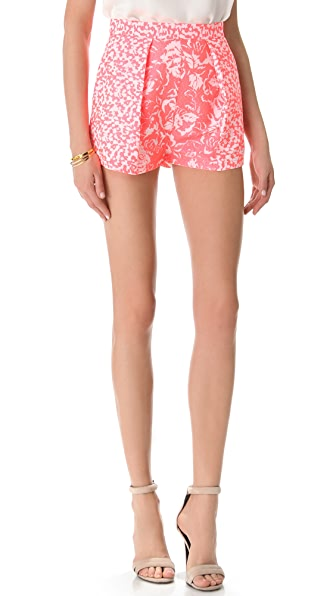 Nicholas French Jacquard Shorts