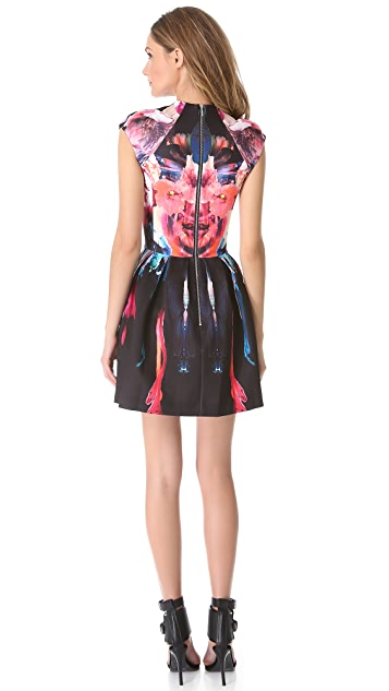 Nicholas Melted Floral Scuba Dress