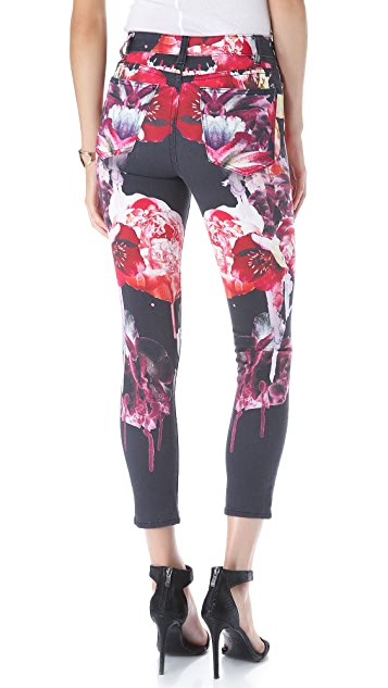 Nicholas Melted Floral Jeans