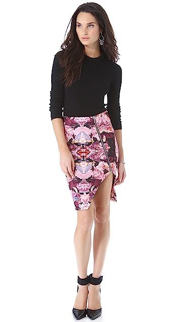 Nicholas Rose Reflect Scuba Pencil Skirt