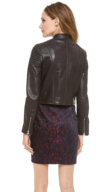 Nicholas Leather Biker Jacket