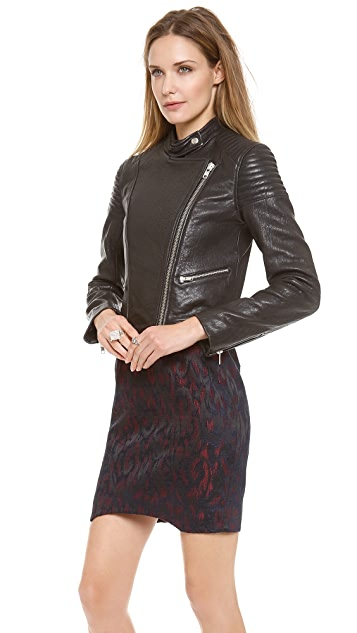 Nicholas Leather Biker Jacket