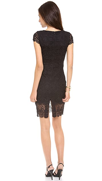 Nicholas Ivy Lace Cap Sleeve dress