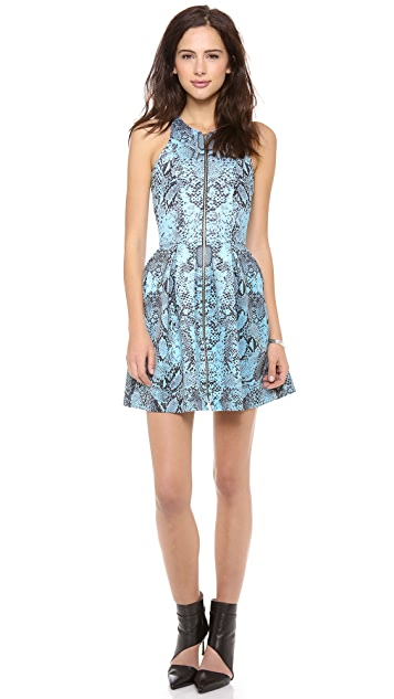 Nicholas Python Zip Front Dress