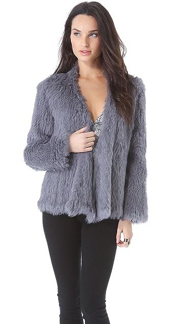 Nicholas Knitted Fur Jacket