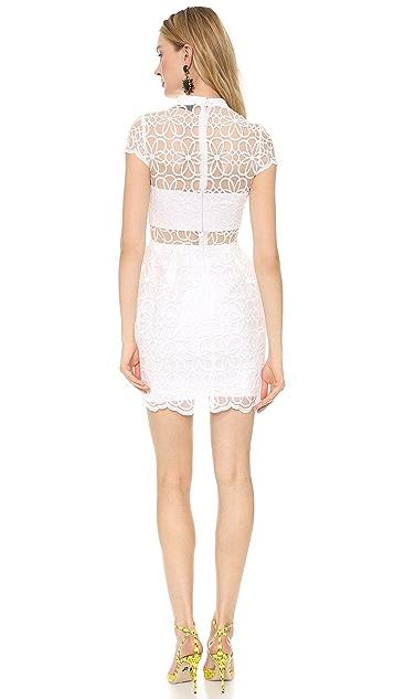Nicholas Organza Lace Tulip Dress