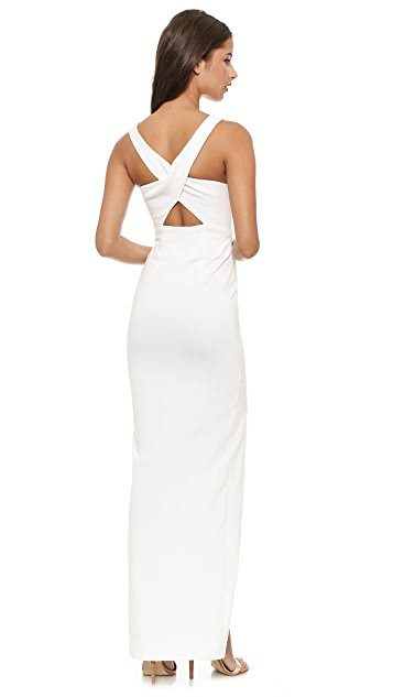 Nicholas Event Crossover Maxi Dress