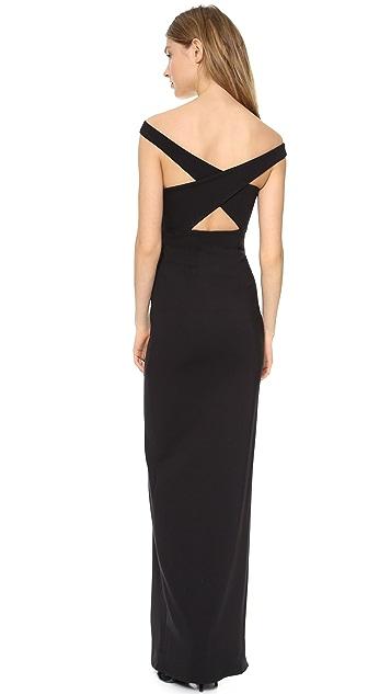Nicholas Event Crossover Maxi Dress