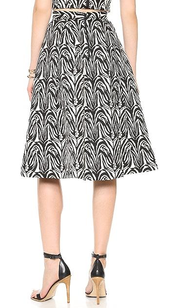 Nicholas Zebra Ball Skirt