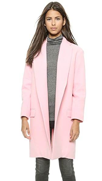 Nicholas Felted Wool Full Length Coat