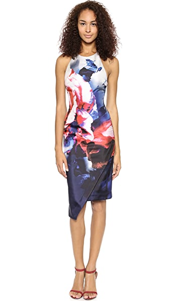 Nicholas Thermo Floral Backless Dress