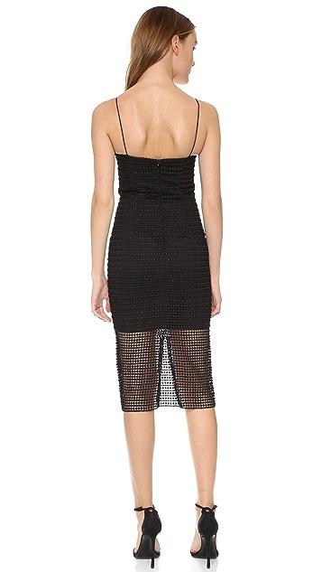Nicholas Dot Lace Bra Dress