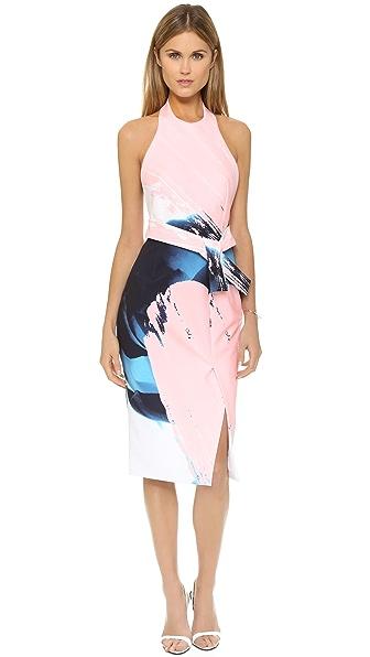 Nicholas Paint Floral Apron Dress Shopbop