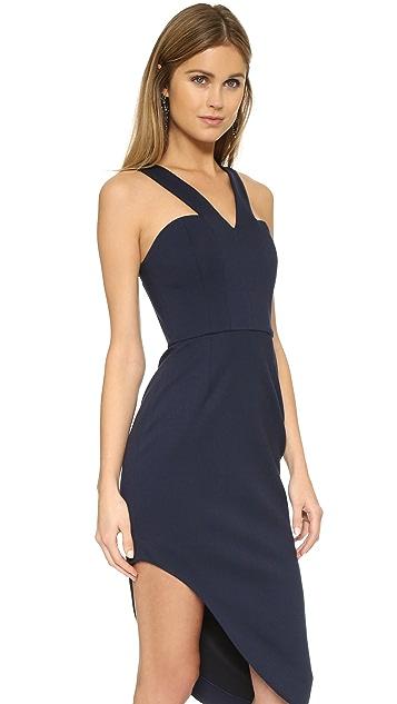 Nicholas N / Nicholas Ponte Side Curve Strap Dress