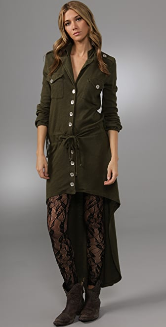 Nightcap x Carisa Rene Army Trench Dress