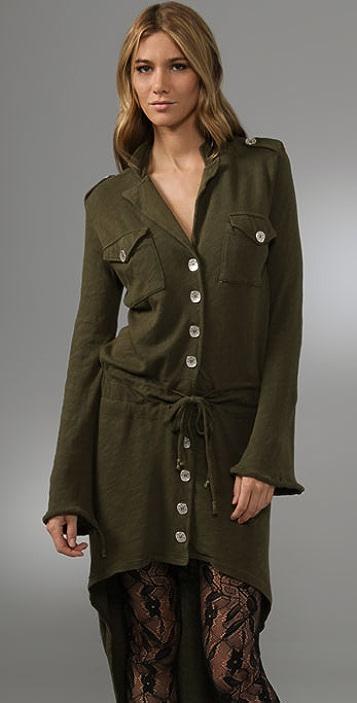 Nightcap x Carisa Rene Army Trench Dress