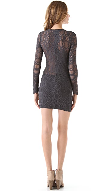 Nightcap x Carisa Rene Deep V Victorian Dress