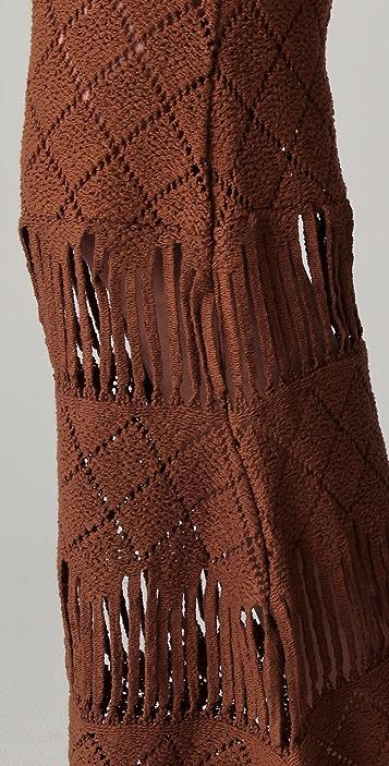 Nightcap x Carisa Rene Diamond Crochet Bell Bottoms