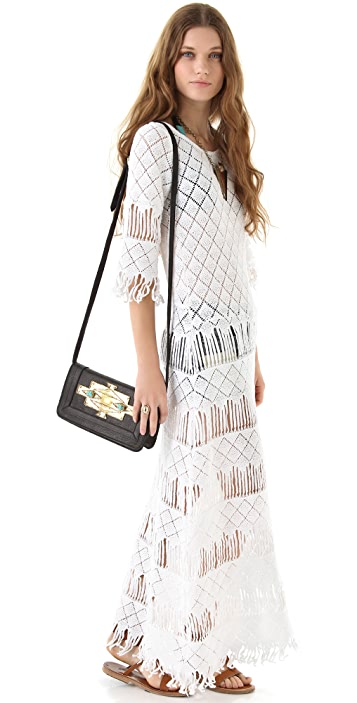 Nightcap x Carisa Rene Long Fringe Dress