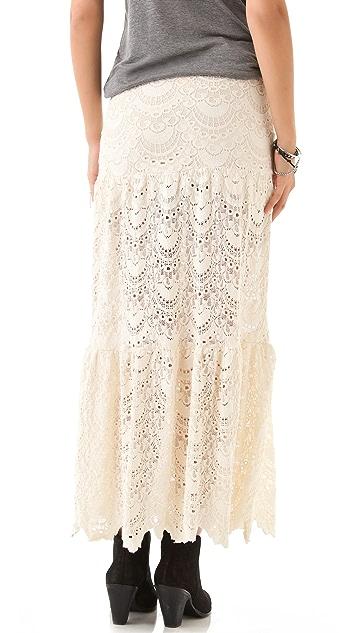 Nightcap x Carisa Rene Spanish Lace Skirt