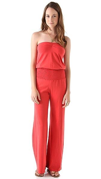 Nightcap Clothing Smocked Baja Jumpsuit