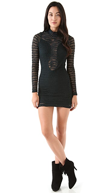 Nightcap x Carisa Rene Diamond Down Lace Dress