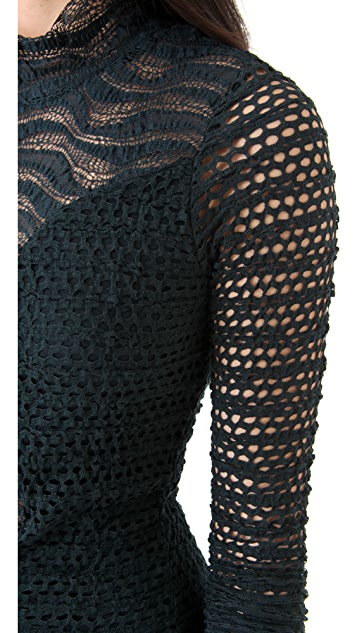 Nightcap x Carisa Rene Diamond Down Lace Dress