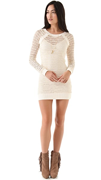 Nightcap x Carisa Rene Lace Raglan Dress