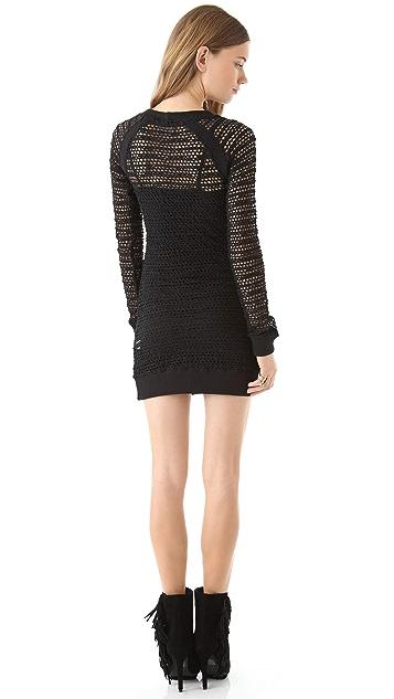 Nightcap x Carisa Rene Lace Raglan Dress