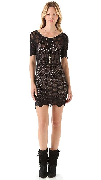 Nightcap x Carisa Rene Boat Neck Victorian Dress
