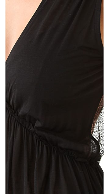 Nightcap x Carisa Rene Plunging V Maxi Dress
