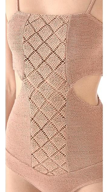 Nightcap x Carisa Rene Diamond Crochet Bodysuit