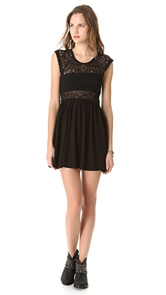 Nightcap x Carisa Rene Isobel Crochet Dress