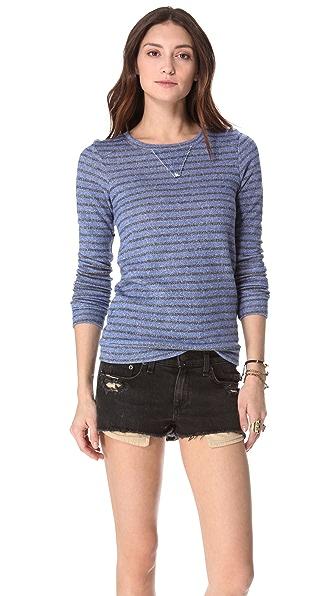 Nightcap x Carisa Rene Striped Terry Sweatshirt