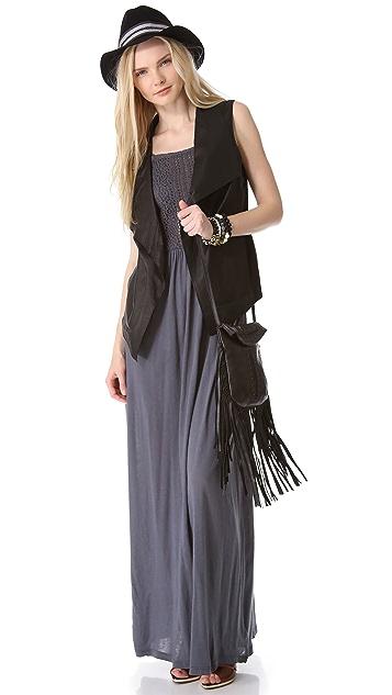 Nightcap x Carisa Rene Apron Beach Maxi Dress