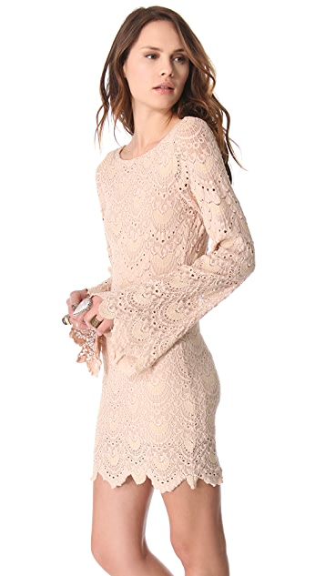 Nightcap x Carisa Rene Lace Priscilla Dress