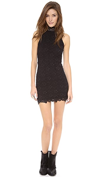 Nightcap Clothing Dixie Lace Halter Dress