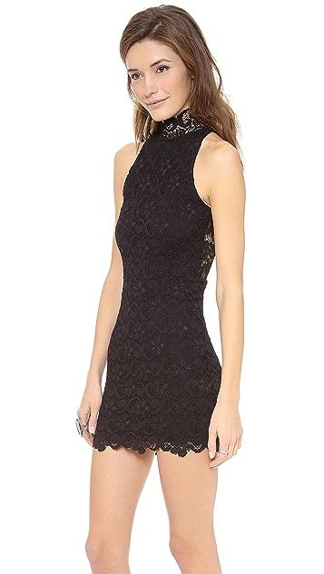 Nightcap x Carisa Rene Dixie Lace Halter Dress