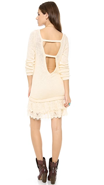 Nightcap x Carisa Rene Peek-A-Boo Sweater Dress